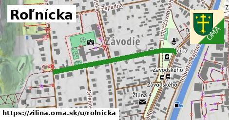 ilustrácia k Roľnícka, Žilina - 400m