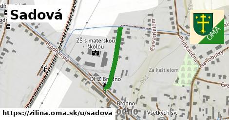 ilustrácia k Sadová, Žilina - 206m