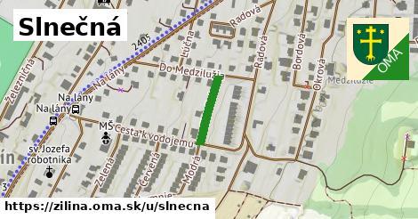 ilustrácia k Slnečná, Žilina - 125m