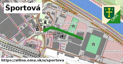 ilustrácia k Športová, Žilina - 278m