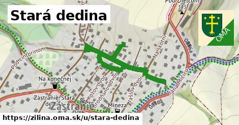 ilustračný obrázok k Stará dedina, Žilina