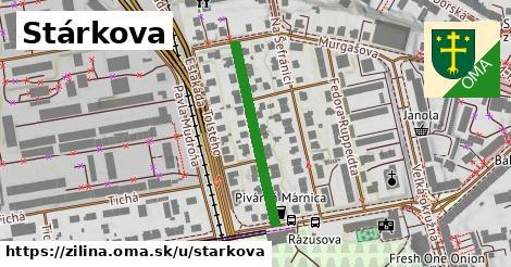 ilustračný obrázok k Stárkova, Žilina