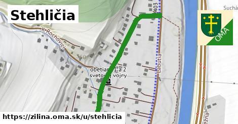 ilustrácia k Stehličia, Žilina - 461m