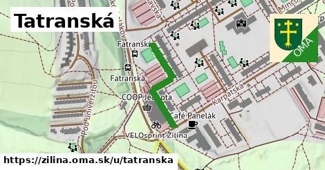 ilustračný obrázok k Tatranská, Žilina