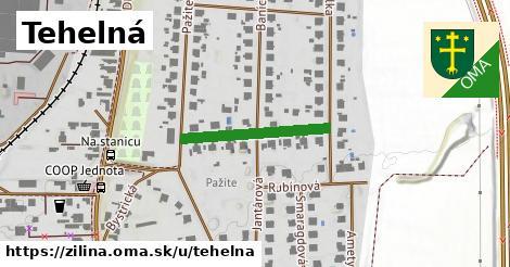 ilustrácia k Tehelná, Žilina - 217m