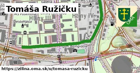 ilustračný obrázok k Tomáša Ružičku, Žilina