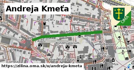 ilustrácia k Andreja Kmeťa, Žilina - 438m