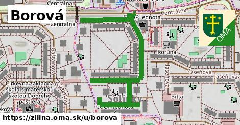 ilustrácia k Borová, Žilina - 0,74km
