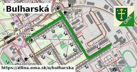 ilustrácia k Bulharská, Žilina - 598m