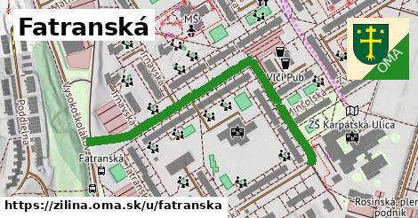 ilustrácia k Fatranská, Žilina - 544m