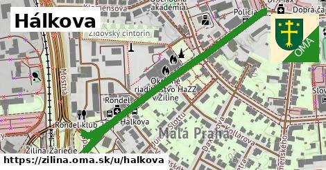 ilustrácia k Hálkova, Žilina - 606m