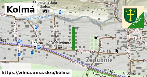 ilustrácia k Kolmá, Žilina - 112m