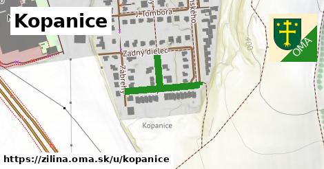 ilustrácia k Kopanice, Žilina - 250m