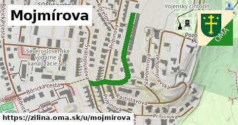 ilustrácia k Mojmírova, Žilina - 326m