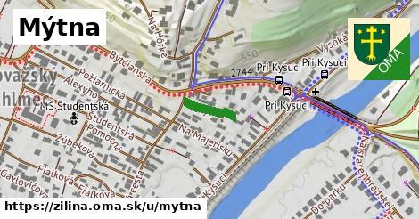 ilustrácia k Mýtna, Žilina - 96m