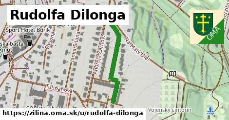 Rudolfa Dilonga, Žilina