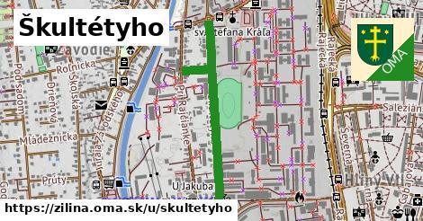 ilustrácia k Škultétyho, Žilina - 686m