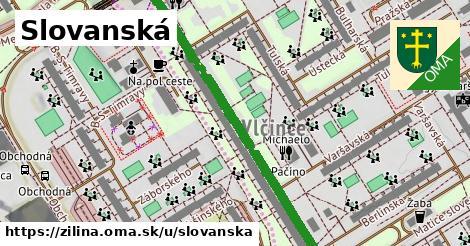 ilustrácia k Slovanská, Žilina - 531m