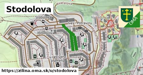 ilustrácia k Stodolova, Žilina - 252m