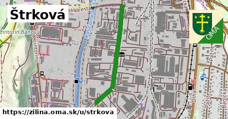 ilustrácia k Štrková, Žilina - 694m
