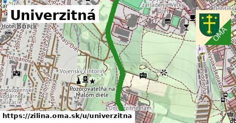 ilustrácia k Univerzitná, Žilina - 1,16km