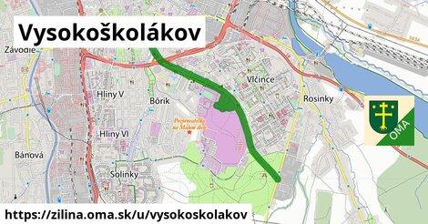 ilustrácia k Vysokoškolákov, Žilina - 4,6km