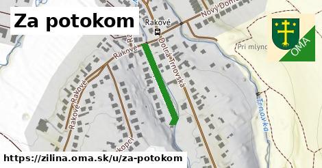 ilustrácia k Za potokom, Žilina - 200m