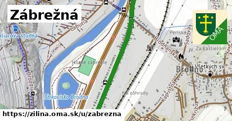 ilustrácia k Zábrežná, Žilina - 0,96km