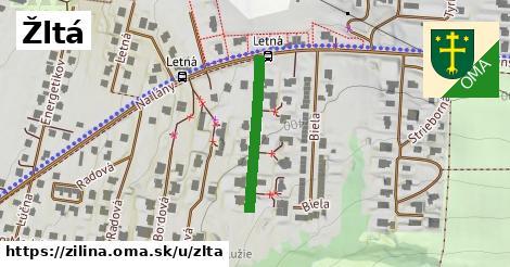 ilustrácia k Žltá, Žilina - 226m