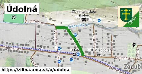 ilustrácia k Údolná, Žilina - 224m