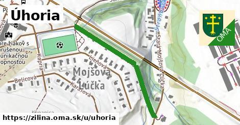 ilustrácia k Úhoria, Žilina - 394m