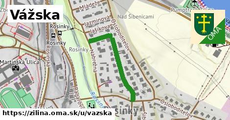 ilustrácia k Vážska, Žilina - 297m