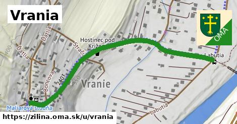 ilustrácia k Vrania, Žilina - 664m