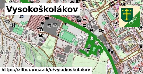 ilustrácia k Vysokoškolákov, Žilina - 3,7km