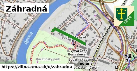 ilustračný obrázok k Záhradná, Žilina