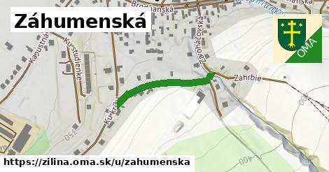 ilustrácia k Záhumenská, Žilina - 236m