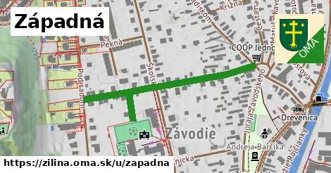 ilustrácia k Západná, Žilina - 454m