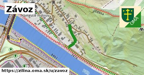 ilustrácia k Závoz, Žilina - 140m