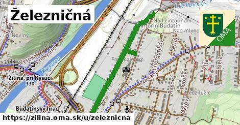 ilustrácia k Železničná, Žilina - 0,75km