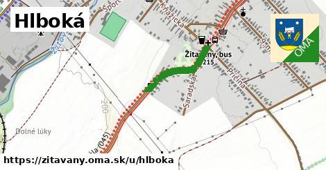 ilustrácia k Hlboká, Žitavany - 1,09km