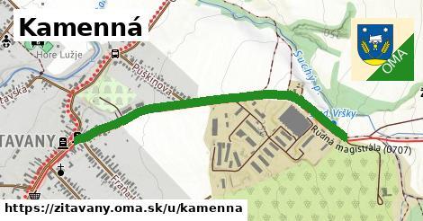 ilustrácia k Kamenná, Žitavany - 530m