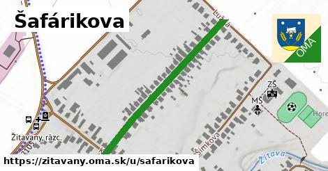 ilustrácia k Šafárikova, Žitavany - 405m