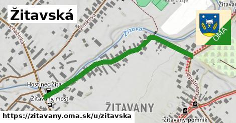 ilustrácia k Žitavská, Žitavany - 544m