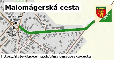 ilustrácia k Malomágerská cesta, Zlaté Klasy - 529m