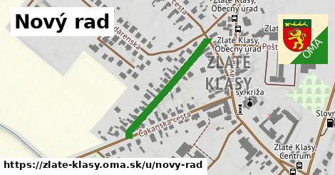 ilustrácia k Nový rad, Zlaté Klasy - 307m