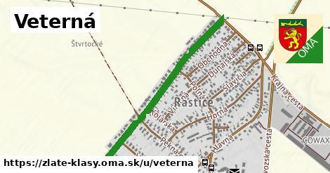ilustrácia k Veterná, Zlaté Klasy - 0,82km