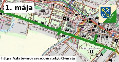ilustrácia k 1. mája, Zlaté Moravce - 1,70km