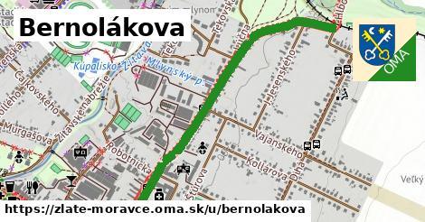 ilustrácia k Bernolákova, Zlaté Moravce - 1,24km