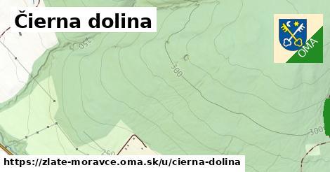 ilustrácia k Čierna dolina, Zlaté Moravce - 680m