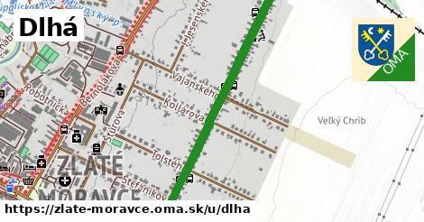 ilustrácia k Dlhá, Zlaté Moravce - 1,21km